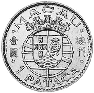 Macau, Prc Pataca reverse