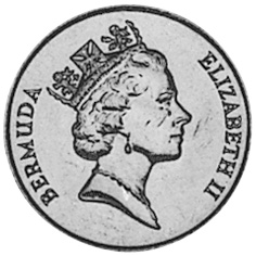 Bermuda Cent obverse