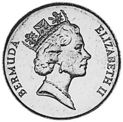 Bermuda 5 Cents obverse