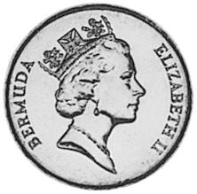 Bermuda 10 Cents obverse