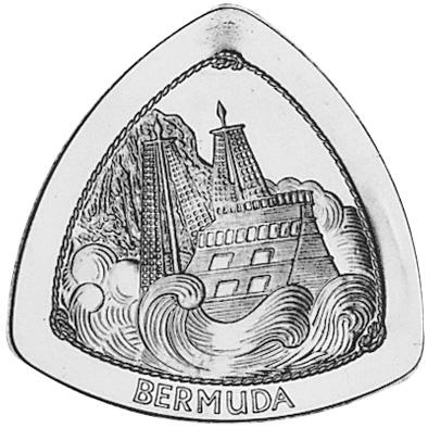 1997 Bermuda Dollar reverse