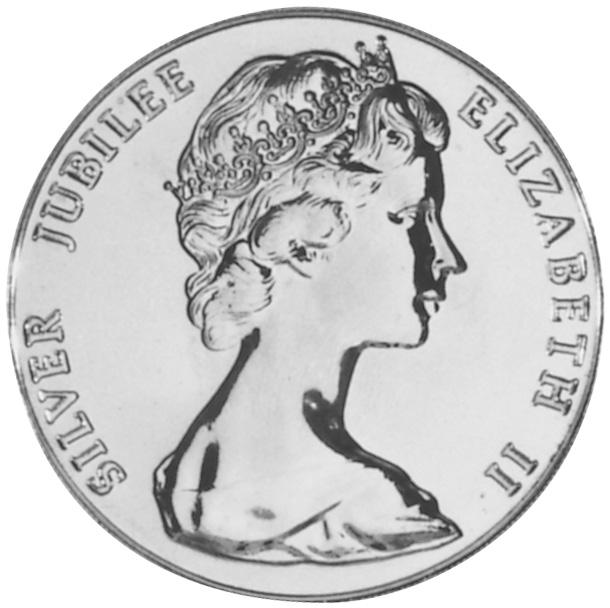 1977 Bermuda 25 Dollars obverse