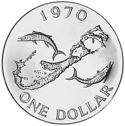 1990 Bermuda 25 Dollars reverse