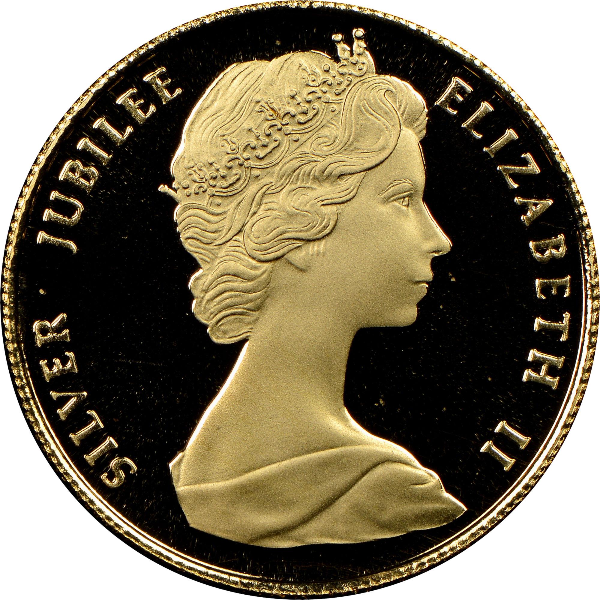 1977 Bermuda 50 Dollars obverse