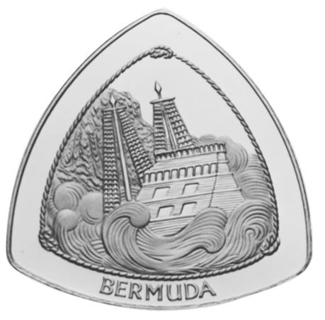 1997 Bermuda 60 Dollars reverse
