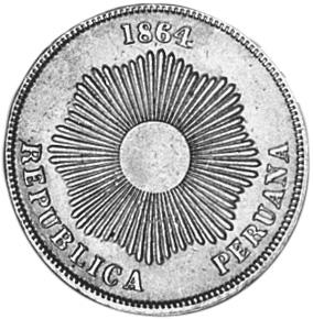 Peru 2 Centavos obverse
