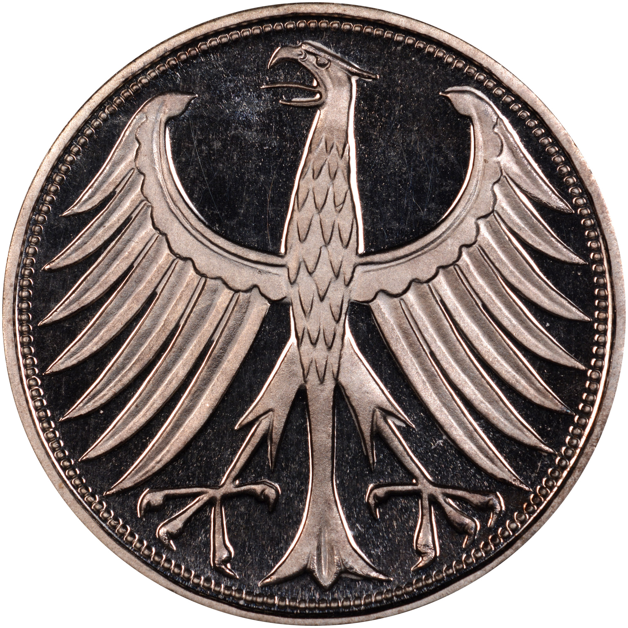 Germany - Federal Republic 5 Mark reverse