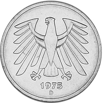 Germany - Federal Republic 5 Mark KM 140 1 Prices & Values | NGC