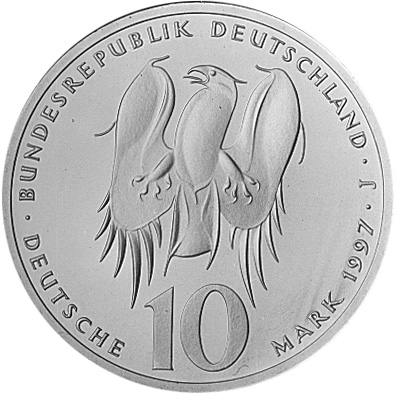 Germany - Federal Republic 10 Mark obverse