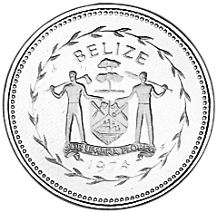 1974 Belize Cent obverse