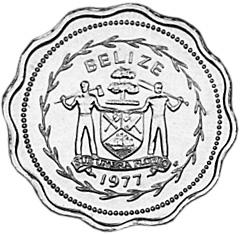 Belize Cent obverse