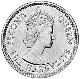 Belize 5 Cents obverse