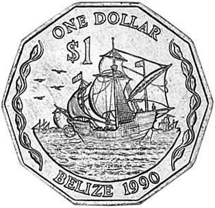 Belize Dollar reverse