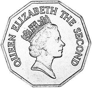 Belize Dollar obverse