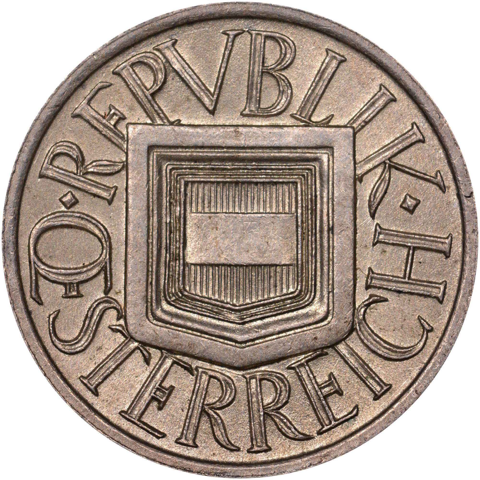 1925-1926 Austria 1/2 Schilling obverse
