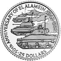 1992 Belize 25 Dollars reverse