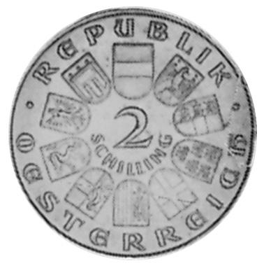 1929 Austria 2 Schilling obverse