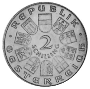 1930 Austria 2 Schilling obverse