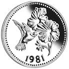 1981 Belize 50 Dollars reverse