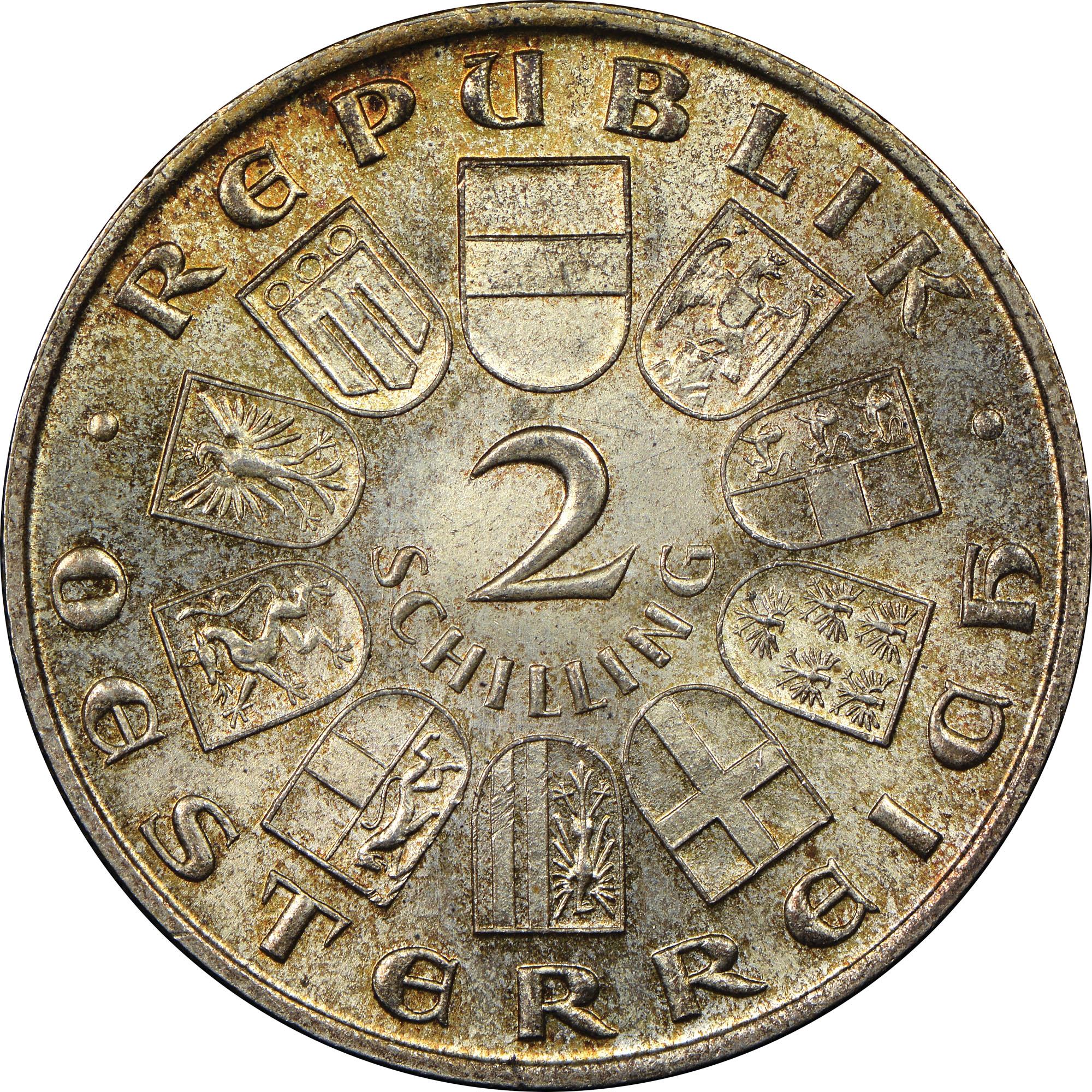 (1933) Austria 2 Schilling obverse