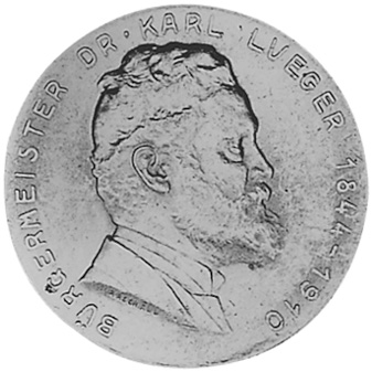 1935 Austria 2 Schilling reverse
