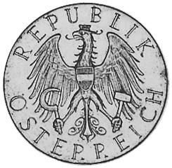 1926-1934 Austria 25 Schilling obverse