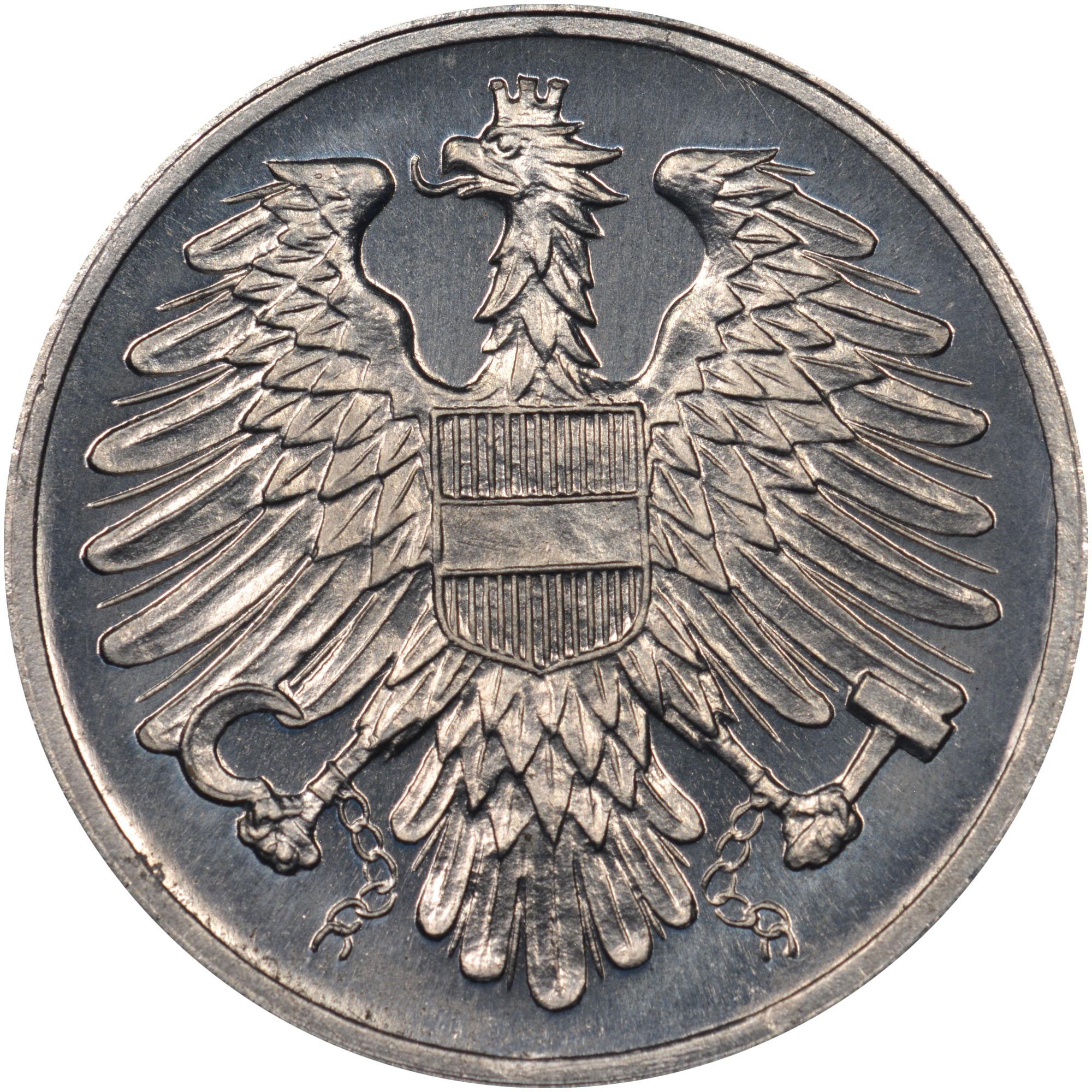 1950-1994 Austria 2 Groschen obverse