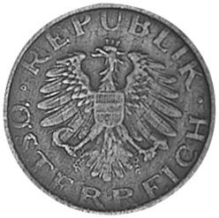 Austria 10 Groschen obverse