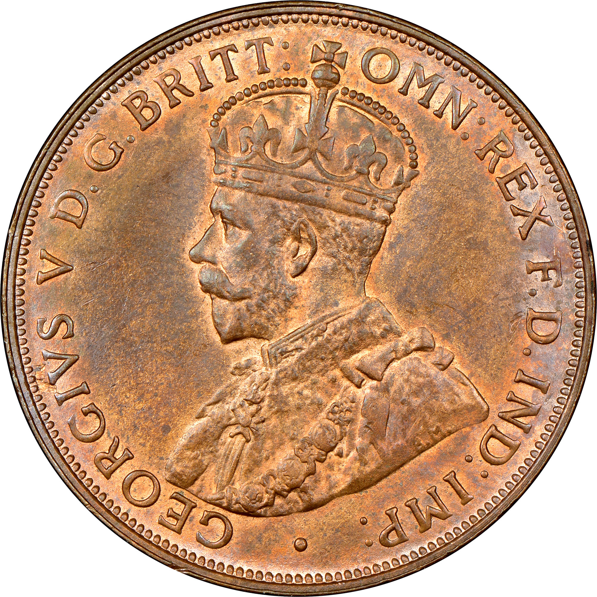 Coin Chart: 1911-1936 Australia Penny KM 23 Prices & Values
