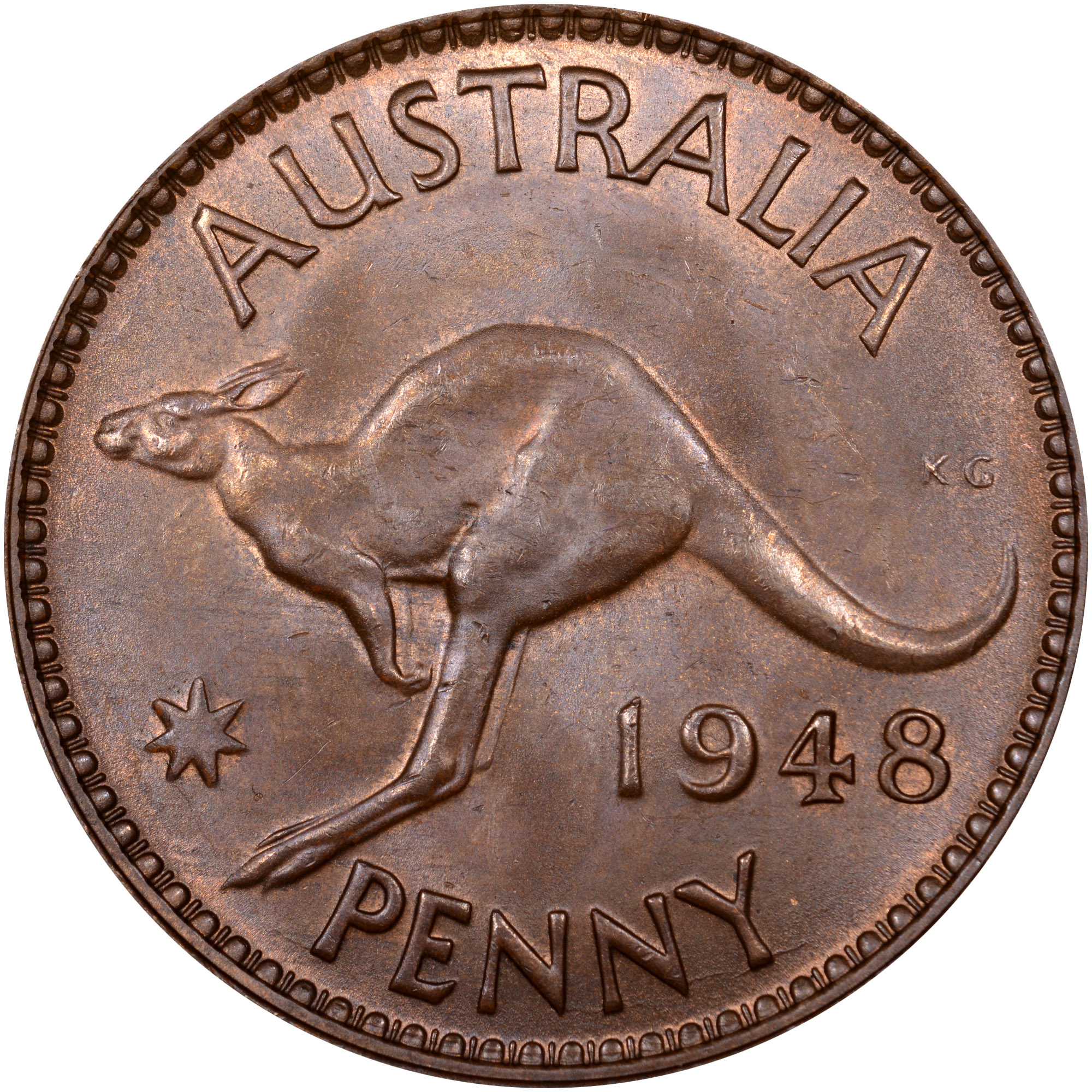 Australia Penny KM 36 Prices & Values | NGC
