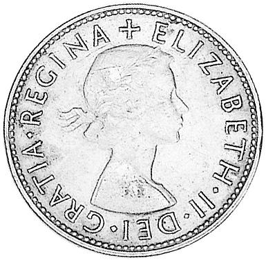 1953 Australia Penny obverse