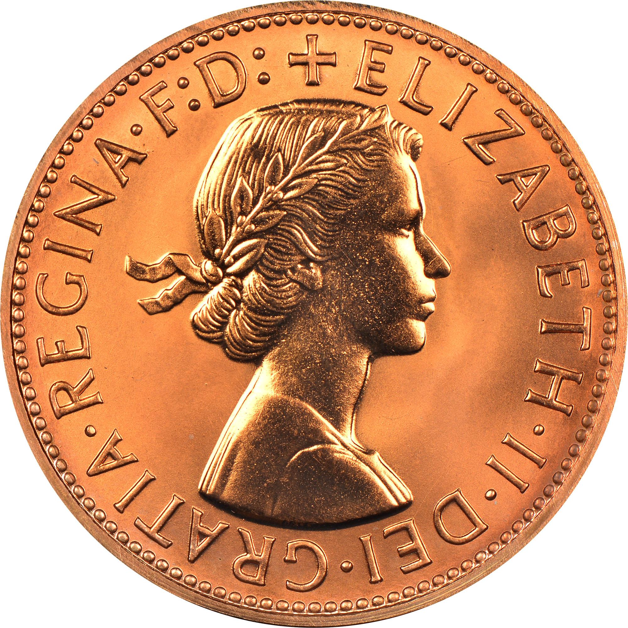 1955-1964 Australia Penny obverse