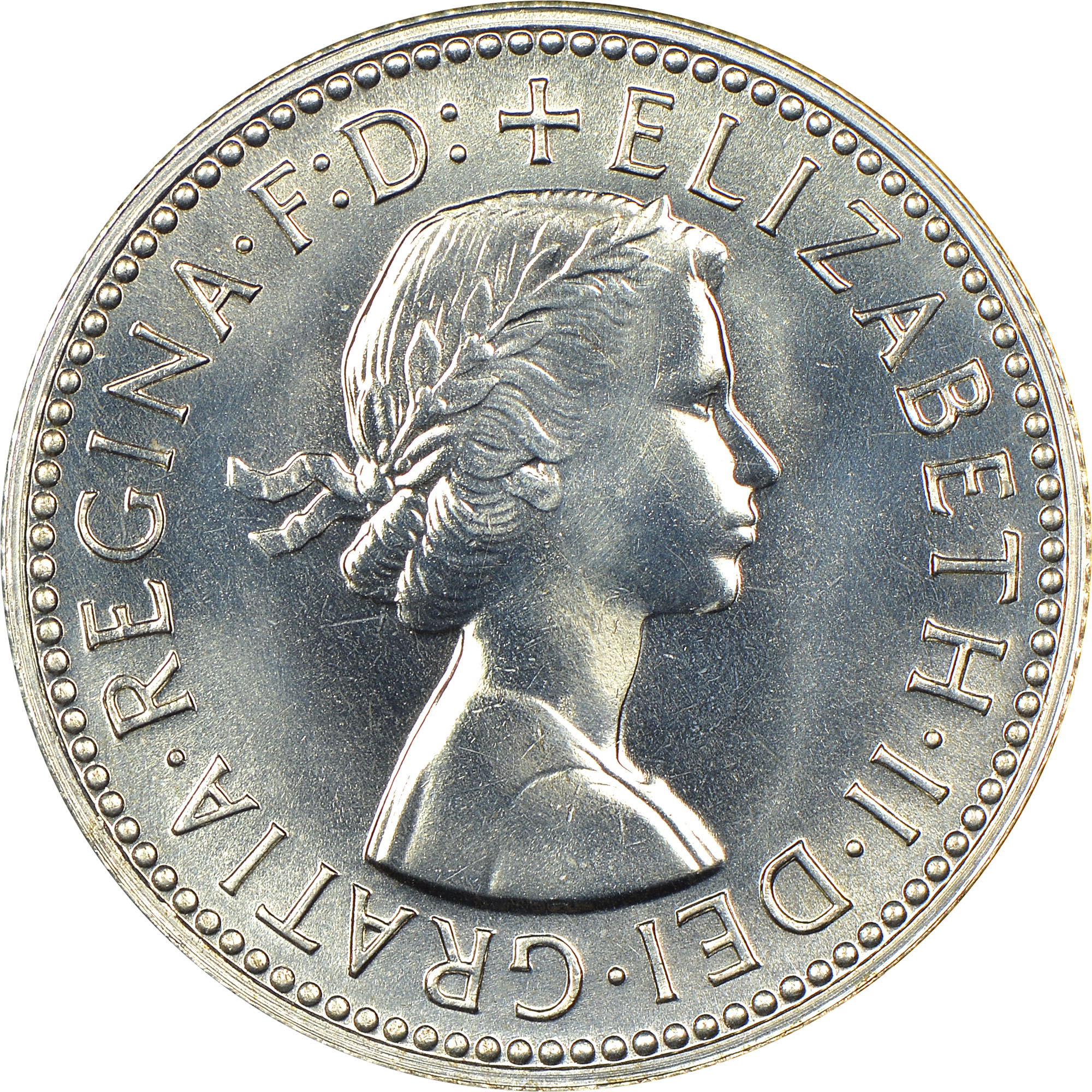 1955-1963 Australia Shilling obverse