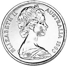 1966-1984 Australia Cent obverse