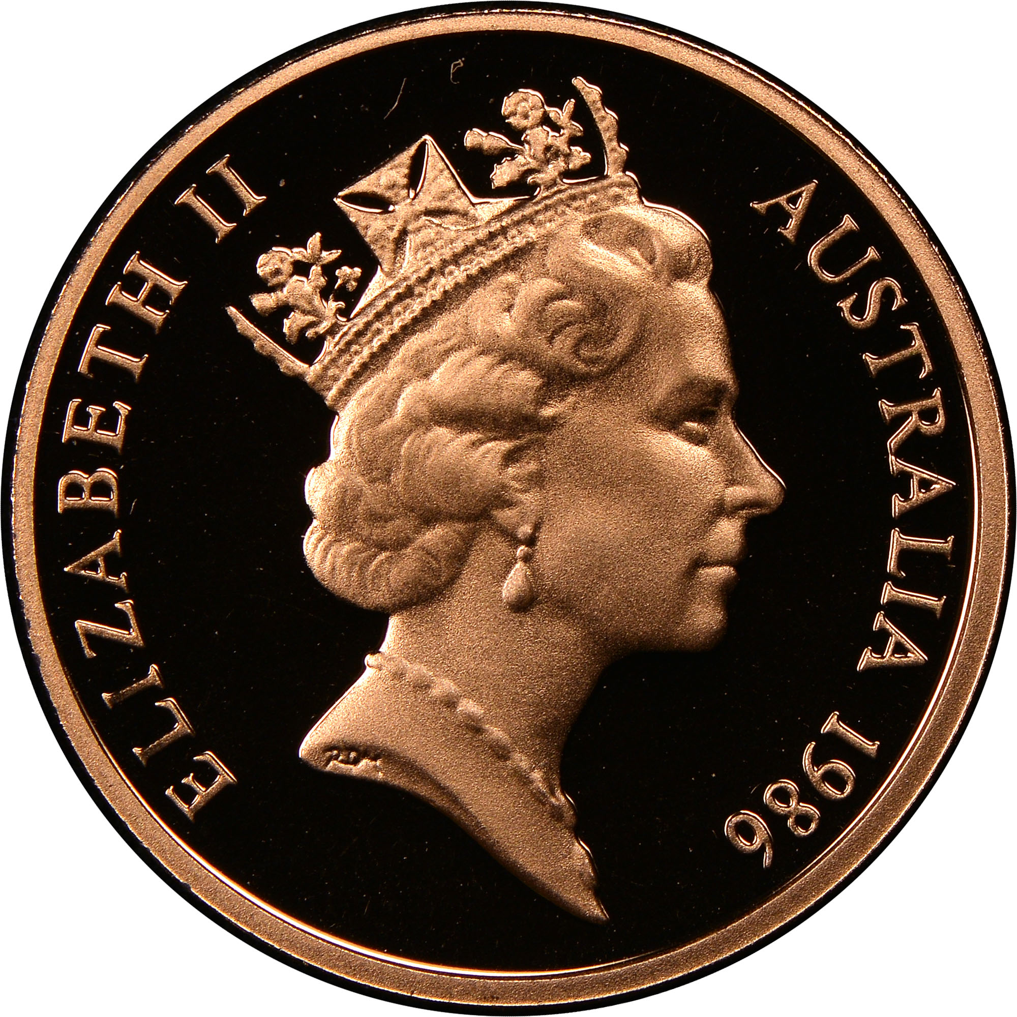 Australia Cent obverse