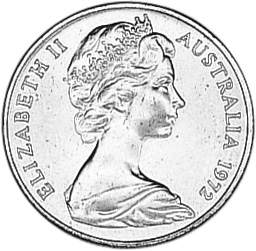 Australia 2 Cents obverse