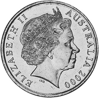 Australia 20 Cents obverse