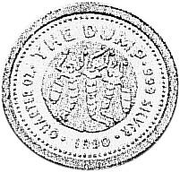 1990 Australia 25 Cents reverse