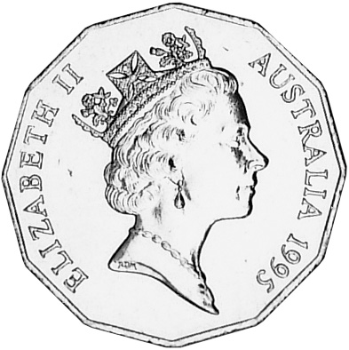 Australia 50 Cents obverse
