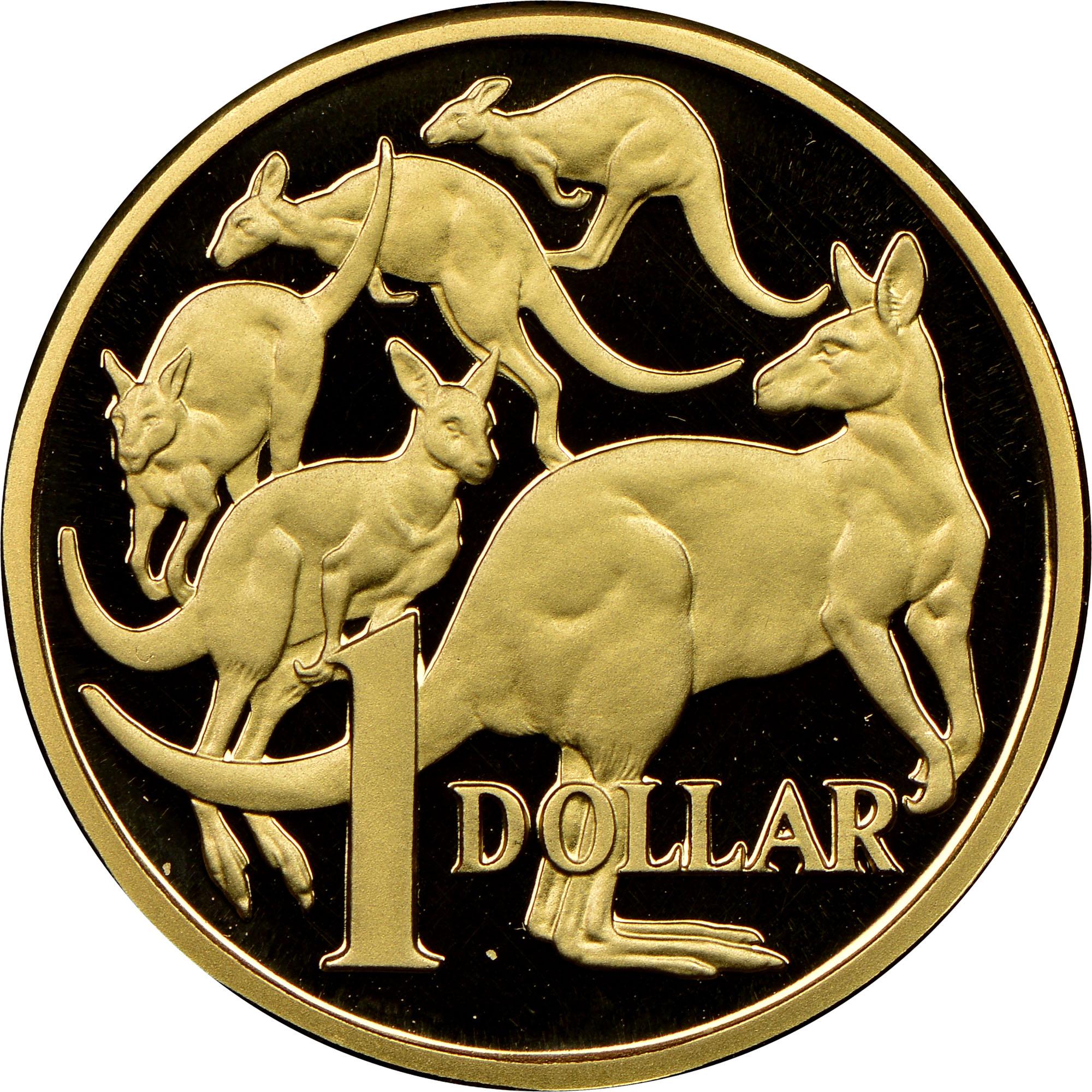 1984 Australia Dollar reverse
