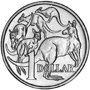 1985-1998 Australia Dollar reverse