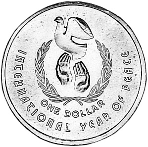 1986 Australia Dollar reverse