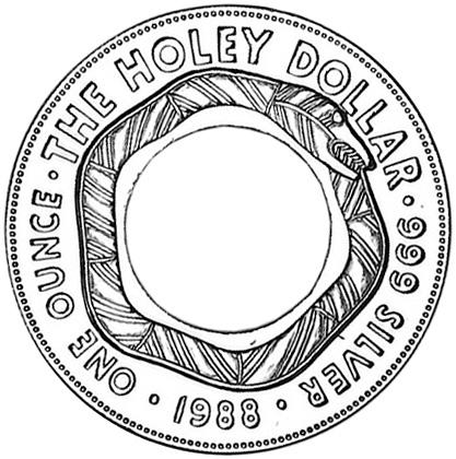 1988 Australia Dollar reverse