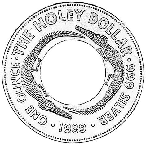 1989 Australia Dollar reverse