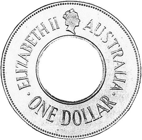 1989 Australia Dollar obverse