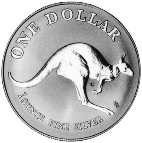 1993 Australia Dollar reverse
