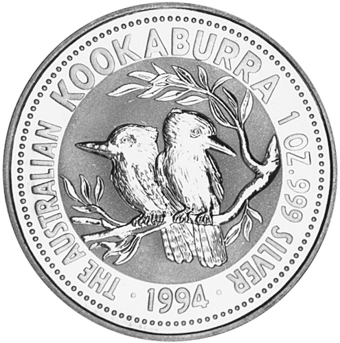 1993-1994 Australia Dollar reverse