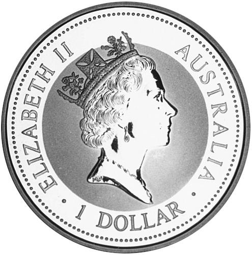 1993-1994 Australia Dollar obverse