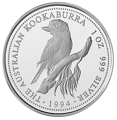 1994-1995 Australia Dollar reverse