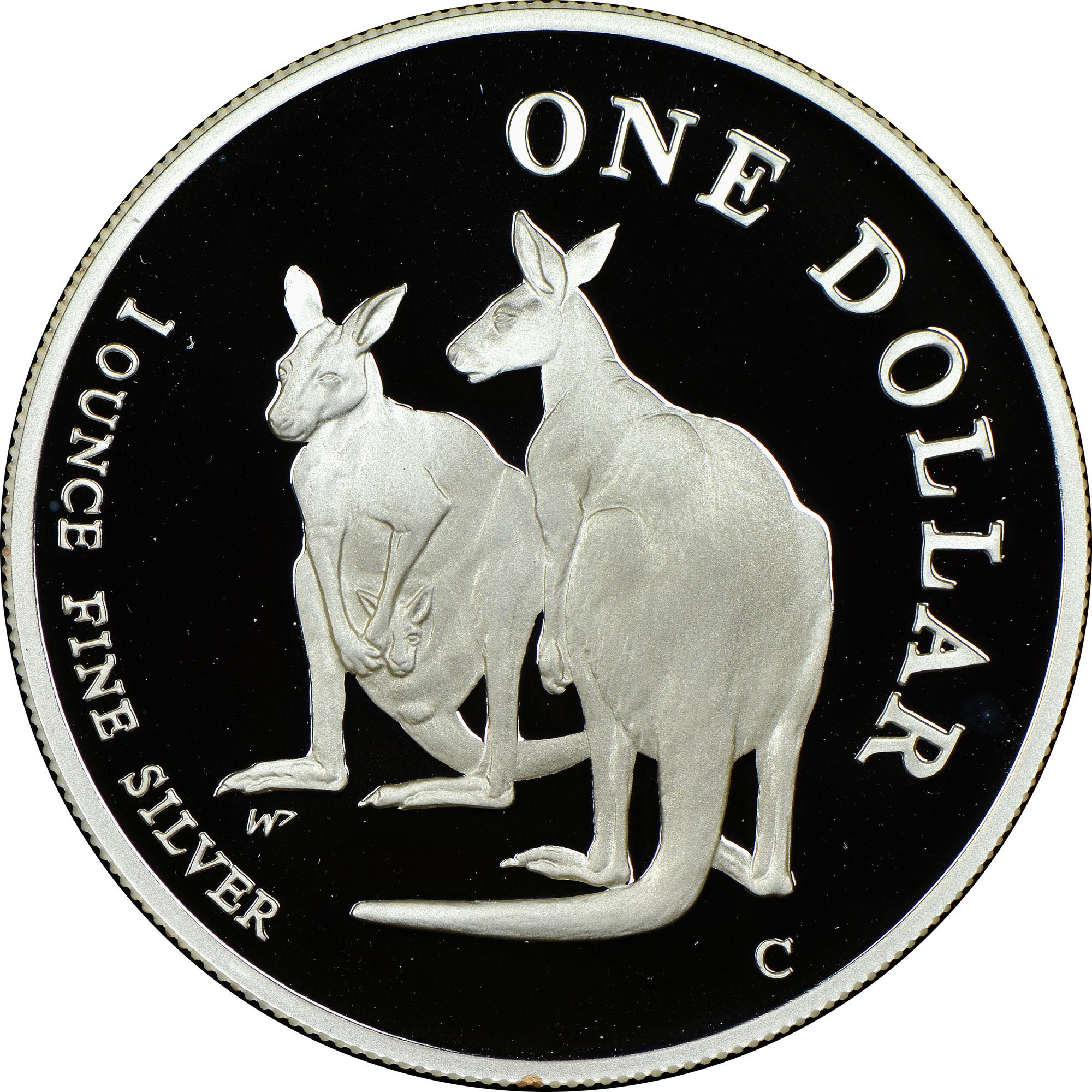 1999 Australia Dollar reverse